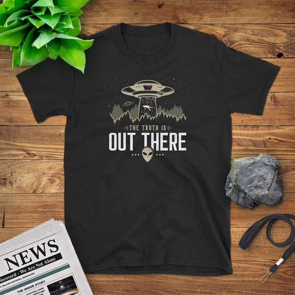 The Truth Is Out There Flat Lay Mockup