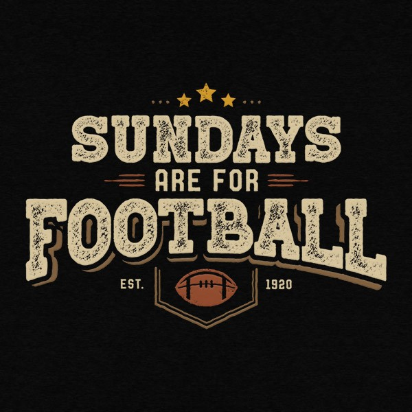 Sundays Are For Football Detail