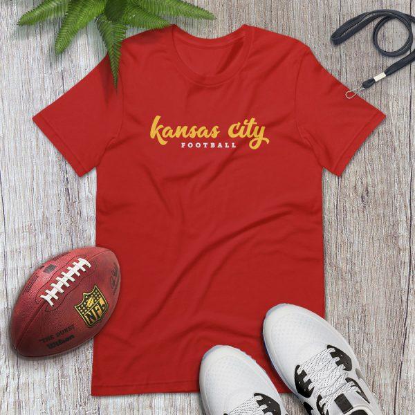 Kansas City Football Flat Lay Tshirt
