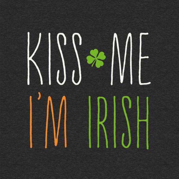 Kiss Me Im Irish Detail