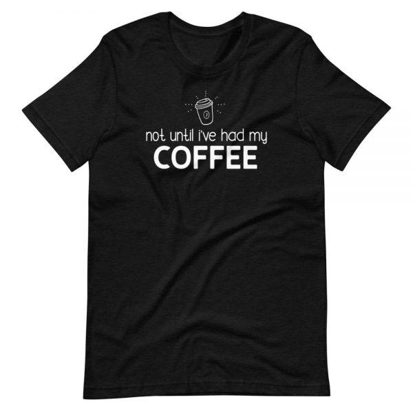 unisex premium t shirt black heather front 601048b0242df