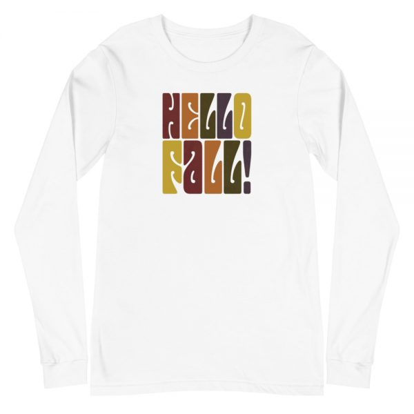 unisex long sleeve tee white front 612cfbf8b923a