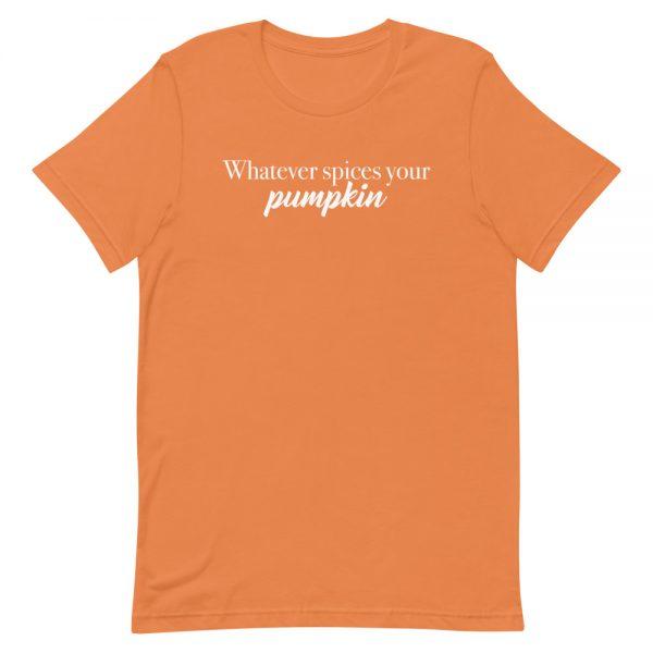unisex staple t shirt burnt orange front 610c5490a176e