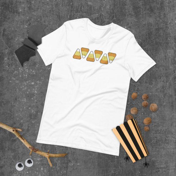 unisex staple t shirt white front 610c51551ff57